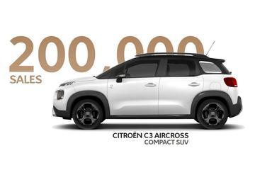 Citroën C3 Aircross: 200.000 verkocht