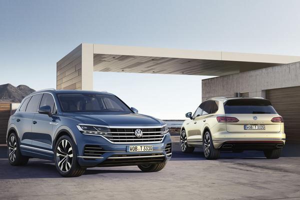 Dit is de nieuwe Volkswagen Touareg!