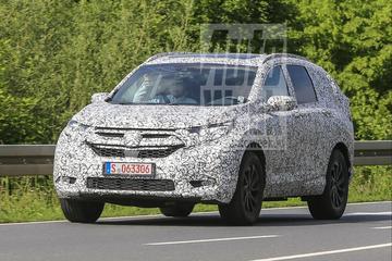 Honda CR-V nu ook in Europa aan het testen