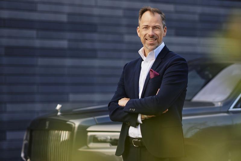 Anders Warming Rolls-Royce ontwerper