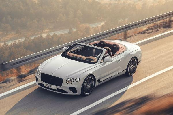Dít is de Bentley Continental GT Convertible