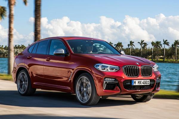 Prijzen nieuwe BMW X4