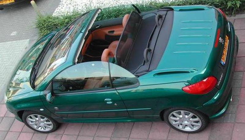 Świeże Peugeot 206 CC 2.0-16V Roland Garros (2003) review - AutoWeek.nl WD02