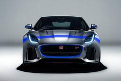 Jaguar F-Type SVR gehuld in Graphic Pack