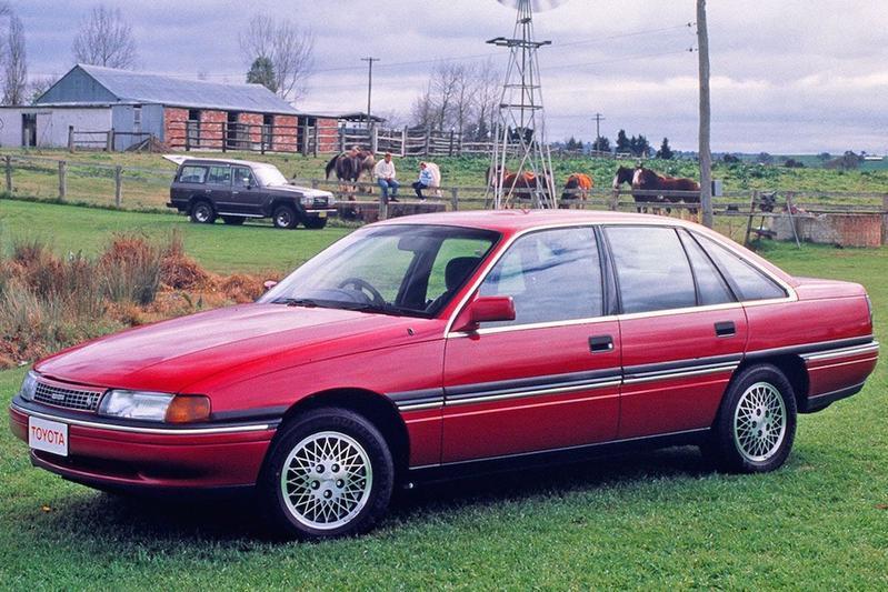 De Tweeling Holden Commodore Toyota Lexcen Autoweek Nl
