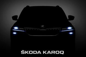 Skoda toont flarden van Karoq
