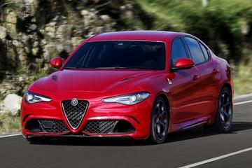 Alfa Romeo Giulia Quadrifoglio geprijsd