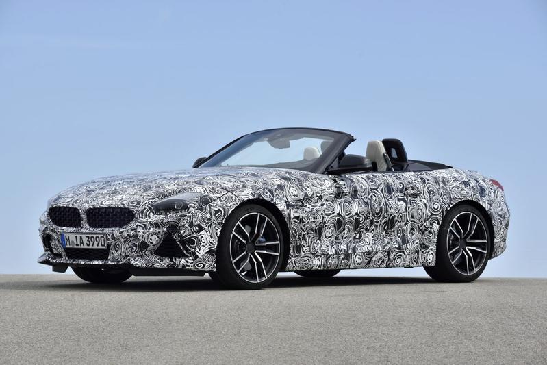 BMW toont nieuw model in Californië