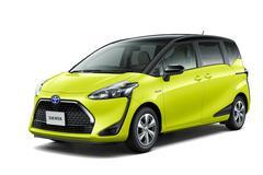 Facelift voor Toyota Sienta