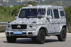 Nieuwe Mercedes-Benz G-klasse gekiekt