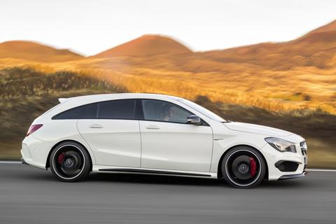 mercedes benz cla 180 shooting brake prestige. Black Bedroom Furniture Sets. Home Design Ideas