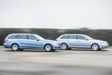 Audi A6 Avant 2.0 TFSI - Mercedes-Benz E200 CGI