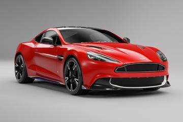 Aston Martin Vanquish knipoogt naar luchtmacht