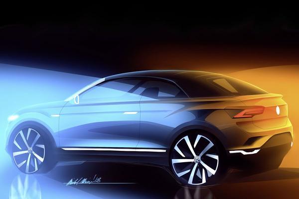 Volkswagen belooft T-Roc cabriolet