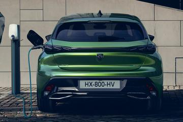 Elektrische Peugeot e-308 komt in 2023
