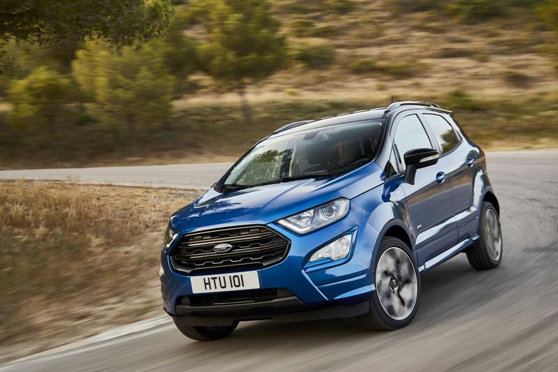Ook Europese Ford Ecosport gefacelift