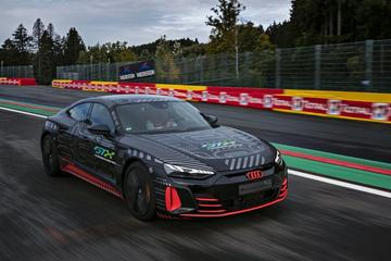 Audi RS E-tron GT helemaal in beeld