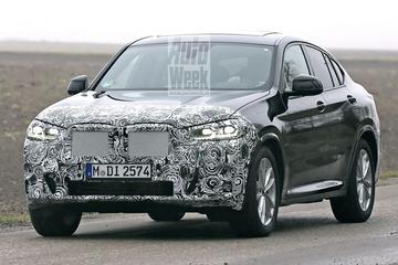 Vernieuwde BMW X4 weer gespot