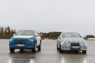 Mercedes-Benz op pad met EQA en EQS
