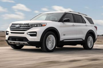Ford Explorer als luxueuze King Ranch Edition