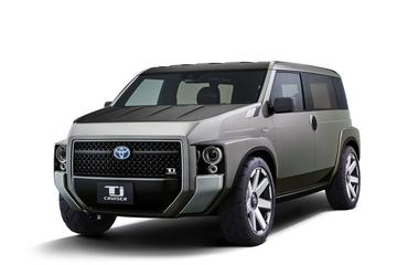 Toyota onthult Tj Cruiser Concept