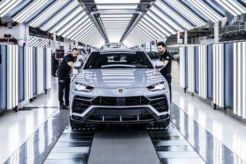 Verkoop Lamborghini licht gedaald in 2020