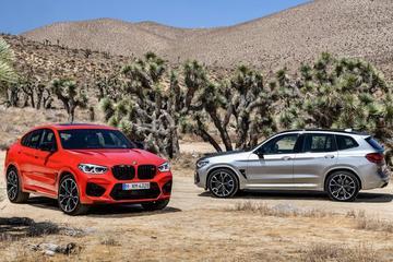 BMW X3 M en X4 M geprijsd