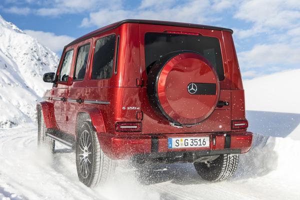 Mercedes-Benz G-klasse als G 350d