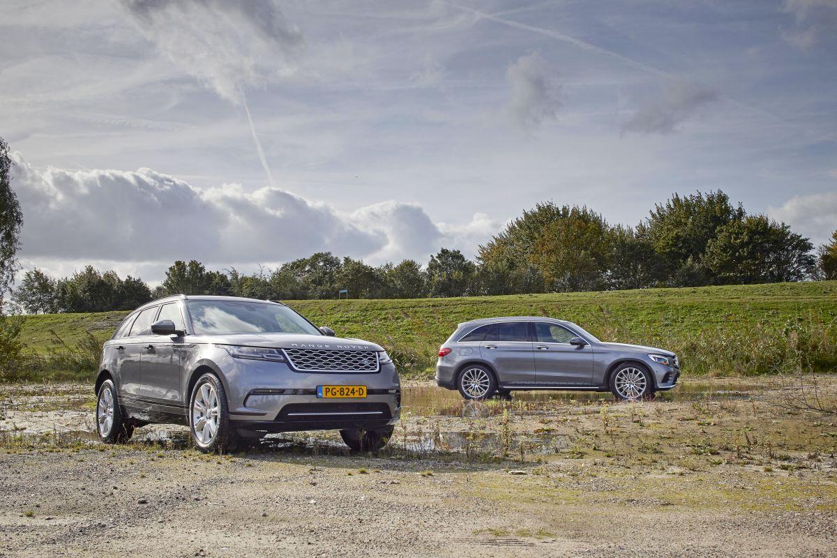 Range Rover Velar - Mercedes-Benz GLC-klasse