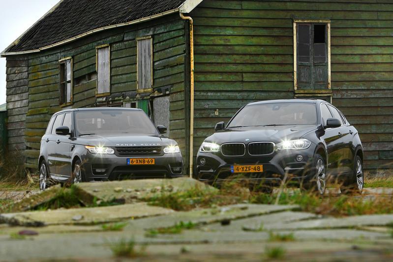 Range Rover Sport - BMW X6