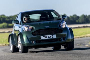 Aston Martin Cygnet nu met V8