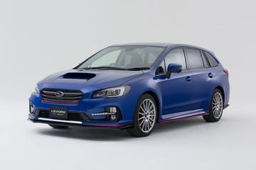 Subaru Levorg STI bevestigd