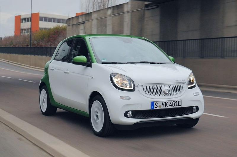 Smart Forfour Electric Drive - Rij-impressie