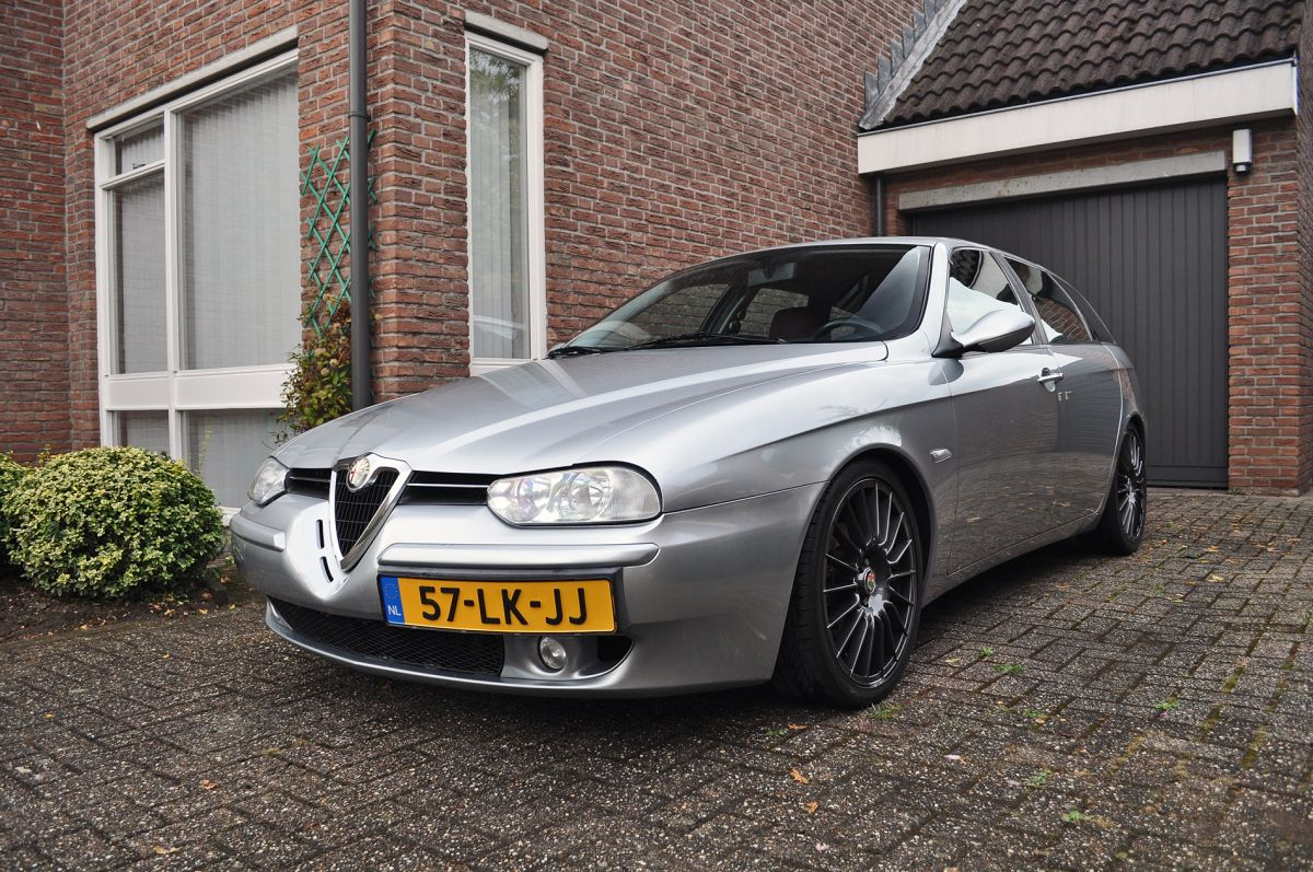 alfa romeo 156 sportwagon 1 8 t spark 16v progression 2003. Black Bedroom Furniture Sets. Home Design Ideas