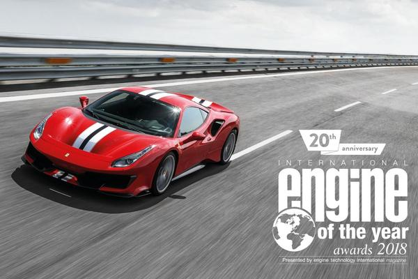 Ferrari wint 'International Engine of the Year'