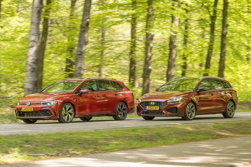 Hyundai i30 Wagon vs. Volkswagen Golf Variant - Dubbeltest