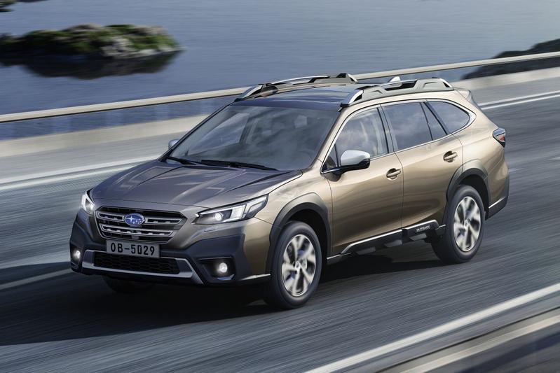 Subaru Outback - Eerste rijtest