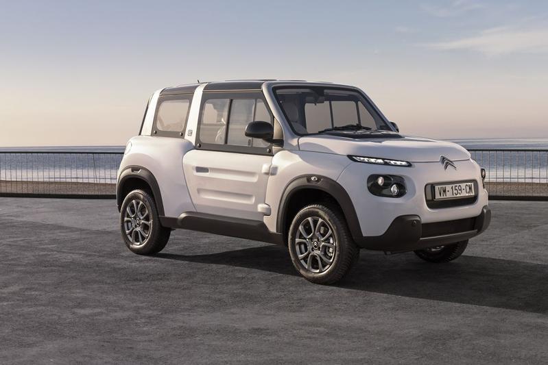 Citroën vernieuwt e-Mehari