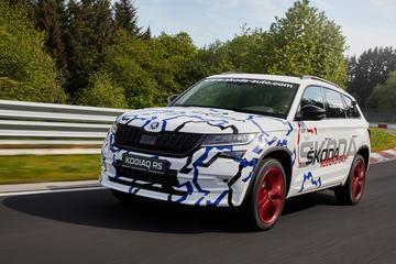 Skoda Kodiaq zet nieuw record op Nürburgring