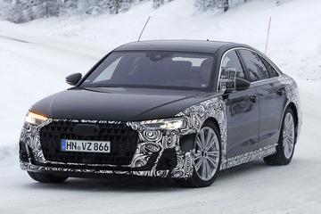 Gefacelifte Audi A8 in beeld