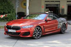 BMW 8-serie Cabrio zeer goed in beeld