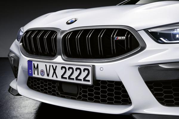 BMW M8 Gran Coupé wordt in LA gepresenteerd
