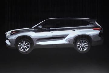 Toyota kondigt nieuwe Highlander aan