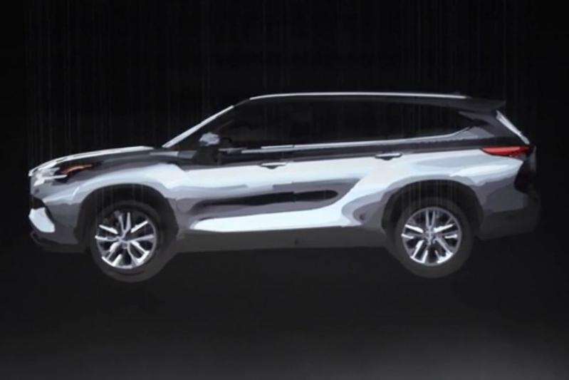 Toyota Highlander teaser