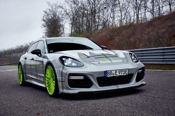 Techart stort zich op Porsche Panamera Turbo S E-Hybrid