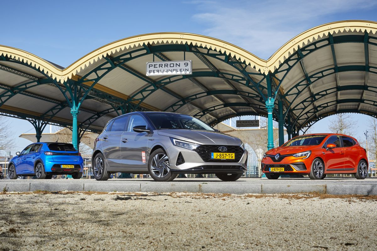 Peugeot 208, Hyundai i20, Renault Clio