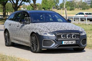 Vernieuwde Jaguar XF Sportbrake gesnapt