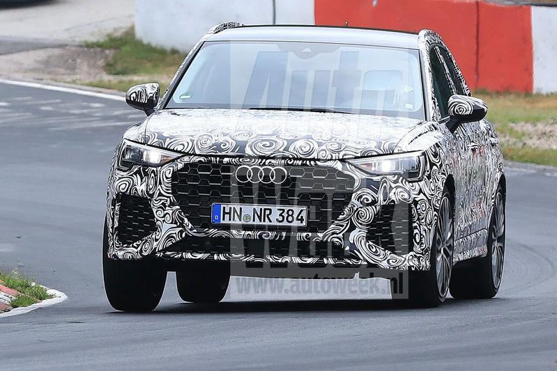 Audi RS Q3 in beeld