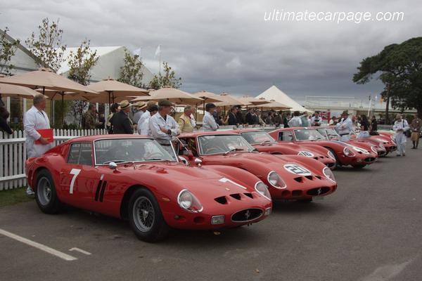 Pirelli produceert banden voor Ferrari 250 GTO
