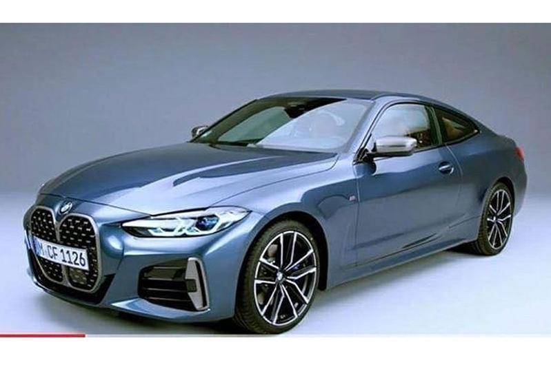 BMW 4-serie gelekt